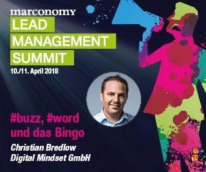 Schluss mit Buzzword-Bingo! Auf dem Leadmanagement Summit wird's konkret