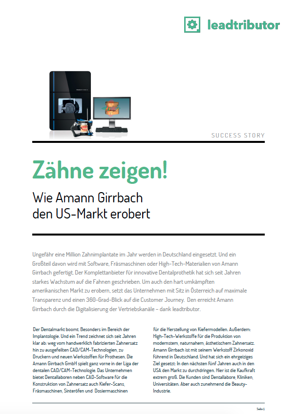 Success Story Amann Girrbach
