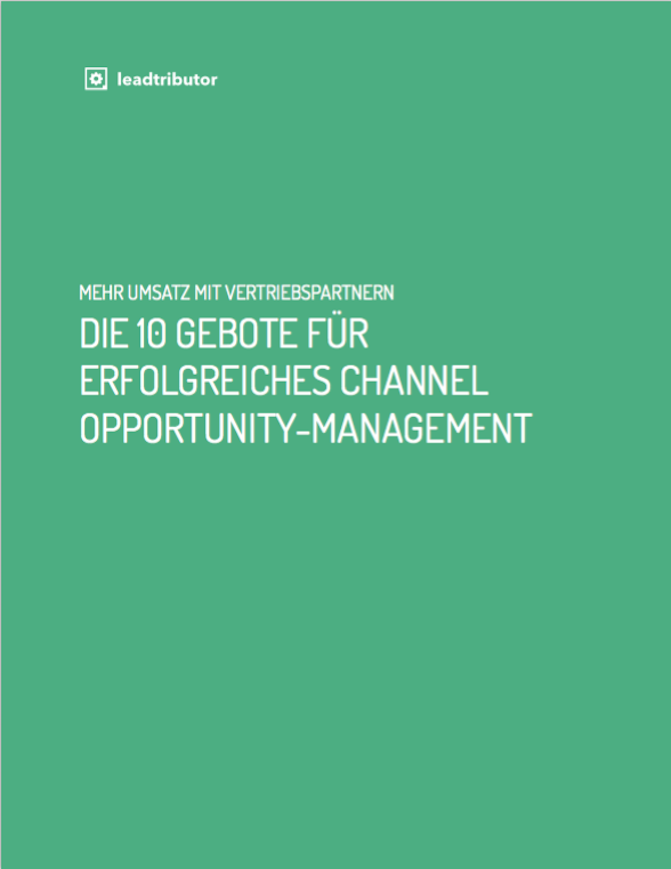 Lead Management Whitepaper Channel Opportunity Management