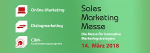 Wir laden Sie herzlich zur Sales Marketing Messe ein: Am 14. März in München!